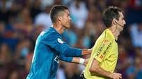 Xâm phạm thân thể trọng tài, Ronaldo có thể bị treo giò 12 trận đấu