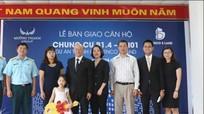 Tập đoàn Mường Thanh bàn giao nhà cho vợ con Đại tá Trần Quang Khải