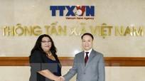 TTXVN ký Thỏa thuận hợp tác mới với Hãng thông tấn Mông Cổ