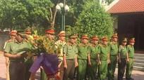 Công an Quỳ Hợp dâng hương tưởng niệm cố Bộ trưởng Trần Quốc Hoàn