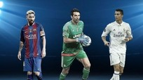 Ronaldo 'đánh bại' Messi và Buffon tại danh hiệu Cầu thủ UEFA của năm?