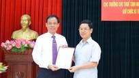 Cục trưởng Cục Thuế tỉnh được điều động giữ chức vụ Bí thư Thị ủy Thái Hòa