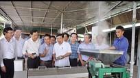 Chủ tịch Nguyễn Xuân Đường thăm và làm việc tại Anh Sơn