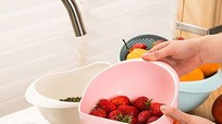 Cách loại bỏ thuốc trừ sâu dính trên trái cây và rau