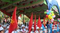Các trường học Nghệ An không báo cáo thành tích tại lễ khai giảng