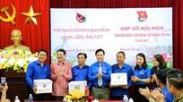Gặp gỡ hữu nghị thanh niên Nghệ An với thanh niên 3 tỉnh của Lào