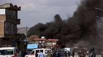 Tên lửa rơi sát Đại sứ quán Mỹ và Phủ tổng thống Afghanistan