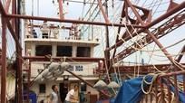 Hỗ trợ 500 triệu đồng cho tàu vỏ thép 67 hư hỏng