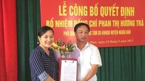 Chi cục Dân số Nghệ An công bố bổ nhiệm cán bộ