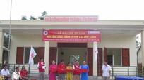 Hội CTĐ Na Uy tài trợ xây nhà tránh lũ tại Nghệ An