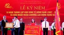 Khu kinh tế Đông Nam đón nhận Huân chương Lao động Hạng Ba