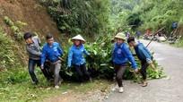 300 đoàn viên thanh niên Con Cuông ra quân 'Ngày thứ 7 tình nguyện'