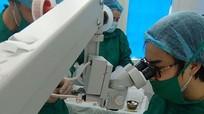 20 bệnh nhân huyện Tân Kỳ được phẫu thuật mắt miễn phí