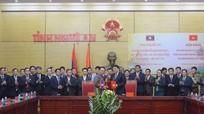 Nghệ An-Xiêng Khoảng thống nhất các nội dung hợp tác giai đoạn 2017-2018