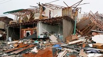Tan hoang sau siêu bão Harvey ở  Mỹ