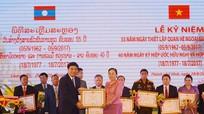 Nâng quan hệ hữu nghị truyền thống Việt-Lào lên tầm cao mới