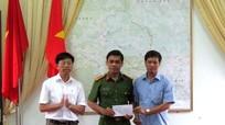 Thưởng nóng Công an huyện Quỳ Châu phá thành công vụ án giết người
