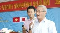 Hiệu trưởng, cố vấn Nhật Bản trường Đại học Công nghệ Vạn Xuân đối thoại với tân sinh viên