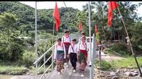 Khánh thành cầu dân sinh tại xã đặc biệt khó khăn ở Nghệ An