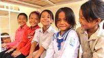 Niềm vui trong nhà bán trú mới của học sinh vùng biên xứ Nghệ