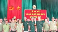 Ra mắt Câu lạc bộ cựu chiến binh đảm bảo an ninh trật tự