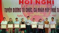 Ngành Thuế Nghệ An: Tiên phong trong cải cách thủ tục hành chính