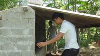184 hộ được hỗ trợ nông dân xây dựng chuồng trại gia súc