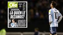 Báo Argentina 'hạ điểm' Messi