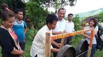 Ban Dân tộc tỉnh Thanh Hoá thăm, giao lưu tại Kỳ Sơn