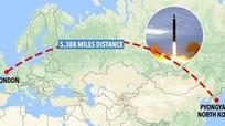 London sẽ rơi vào tầm ngắm của tên lửa Triều Tiên?