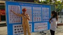 Diễn Châu: Gần 1.500 học sinh được tuyên truyền luật ATGT