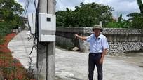Hàng nghìn cột điện sau xây dựng nông thôn mới chưa được di dời