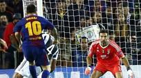 Messi hóa giải được vận đen khi đối đầu với Buffon