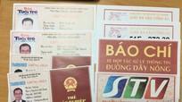 Tổng giám đốc Truyền hình trực tuyến Việt Nam - STV làm thẻ tác nghiệp giả