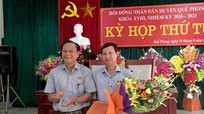 Quế Phong: Miễn nhiệm chức vụ Phó chủ tịch HĐND huyện