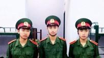 Ba anh em sinh 3 đã chính thức trở thành quân nhân