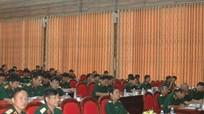 Quân khu 4 tổng kết Nghị quyết về chiến lược cán bộ