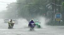 Nhiều tuyến đường trong TP Vinh đang bị ngập sâu, nhiều cây xanh bị gãy đổ
