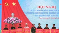11 tập thể và 44 cá nhân được Bộ Quốc phòng khen thưởng