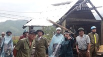 Phó Bí thư Tỉnh ủy Nguyễn Văn Thông kiểm tra các điểm ách yếu tại Quỳ Hợp