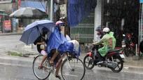 Bão gây mưa lớn ở miền núi Nghệ An, nhiều khe suối nước dâng cao