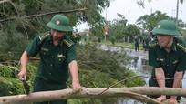 BĐBP Nghệ An khẩn trương giúp dân khắc phục hậu quả bão số 10