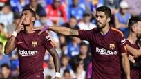 Paulinho ghi bàn quyết định, Barca giữ mạch toàn thắng ở La Liga