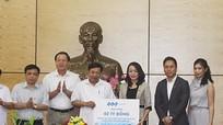 Tập đoàn FLC hỗ trợ Nghệ An 2 tỷ đồng khắc phục cơn bão số 10