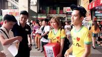 Người Nghệ ở xứ Đài quyên tiền trợ giúp quê hương
