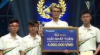 Nam sinh Nghệ An giành vòng nguyệt quế 'Đường lên đỉnh Olympia'