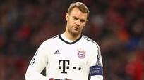 Bayern mất thủ môn số 1 đến tháng 1/2018