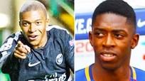 Mbappe, Dembele, Rashford tranh giải Cậu bé Vàng 2017