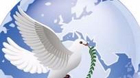 Được sống trong hòa bình là khát vọng của toàn nhân loại