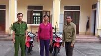 Nhận lại xe máy sau 19 ngày bị mất trộm